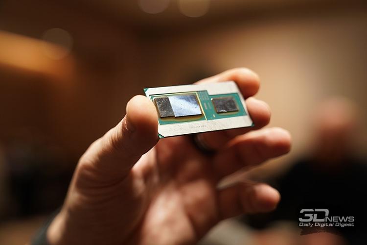Intel представила процессоры Kaby Lake Gсграфикой AMD
