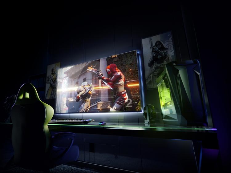 """CES 2018: NVIDIA представила BFGD — панель для игровых систем"""""""
