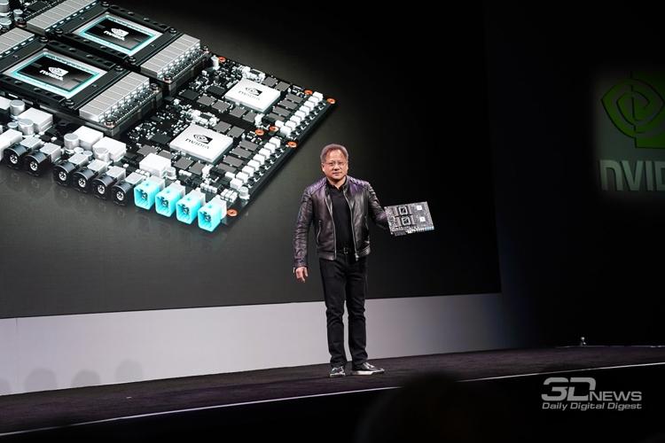 n5 - CES 2018: дебют платформы NVIDIA DRIVE Xavier для самоуправляемых автомобилей