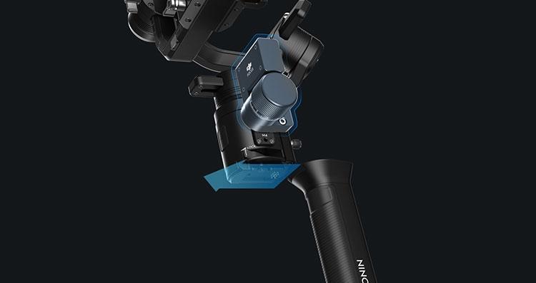 "CES 2018: DJI представила ручной стабилизатор Ronin-S для DSLR-камер"""