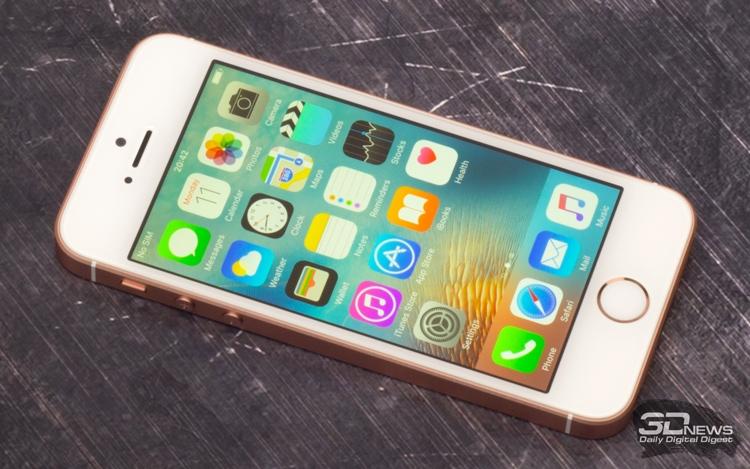 Apple iPhone SE первого поколения побывал в своё время тестовой лаборатории 3DNews