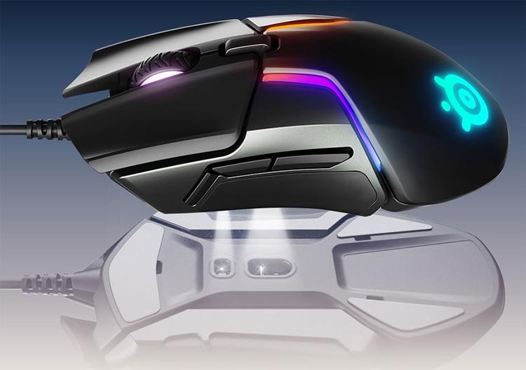 "CES 2018: мышь SteelSeries Rival 600 наделена системой на базе двух сенсоров"""