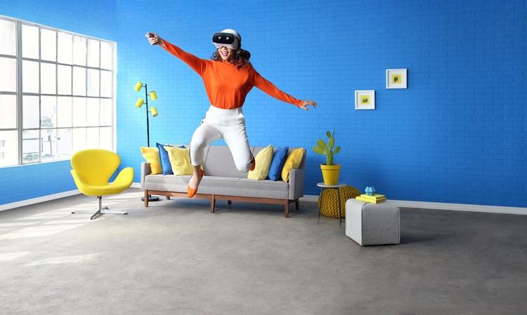 """CES 2018: дебют VR-шлема «всё в одном» Lenovo Mirage Solo with Daydream"""""""