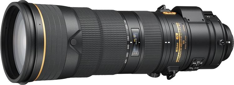 CES 2018: объектив Nikon AF-S Nikkor 180–400mm f