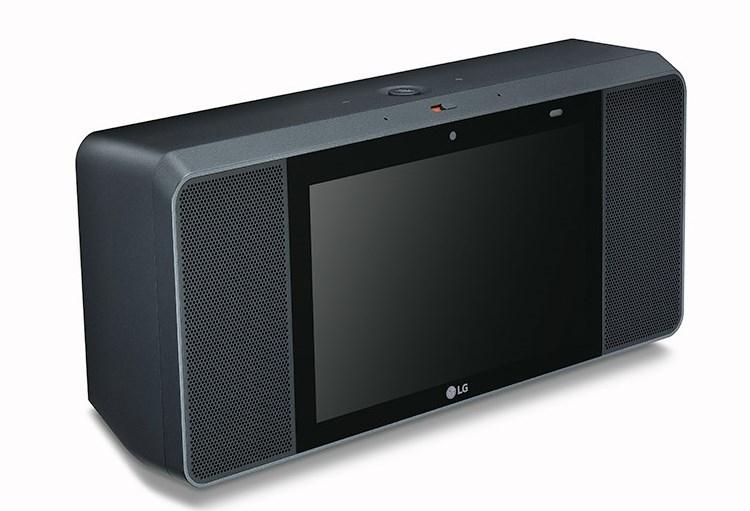 "CES 2018: смарт-динамик LG ThinQ WK9 с8-дюймовым экраном"""