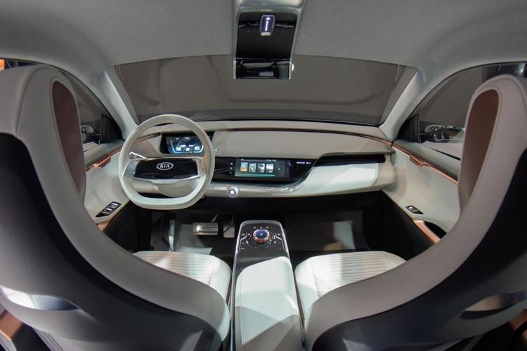 CES 2018: автомобильные технологии будущего в представлении KIA 1