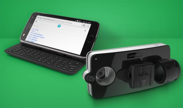 CES 2018: аксессуар Lenovo Vital Moto Mod поможет следить за состоянием организма