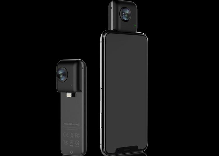 """CES 2018: аксессуар Insta360 Nano S превратит iPhone в панорамную камеру"""""""