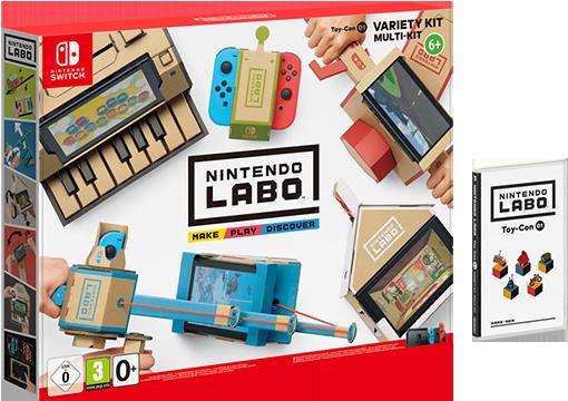 Nintendo поведала окартонном конструкторе Labo для Switch