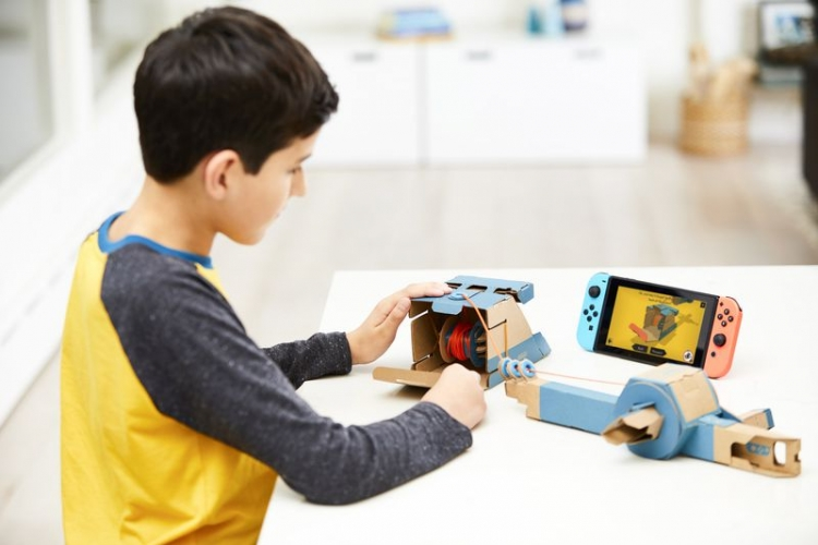 Nintendo Labo — новое семейство интерактивных игр для детей на базе Nintendo Switch