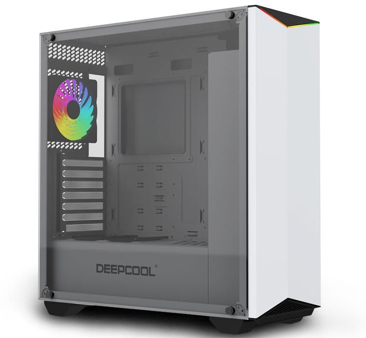 Корпус Deepcool Earlkase RGB WH выполнен в белом цвете