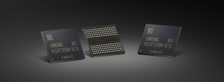 """Samsung начинает массовое производство 16-Гбит GDDR6"""""""