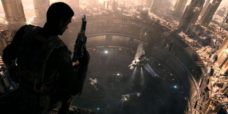 Кадр из ролика отменённой в 2013 году Star Wars 1313