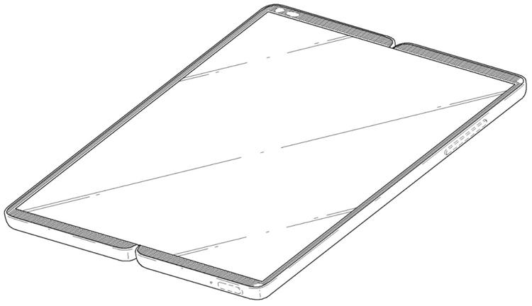LG проектирует складной смартфон с необычным дизайном