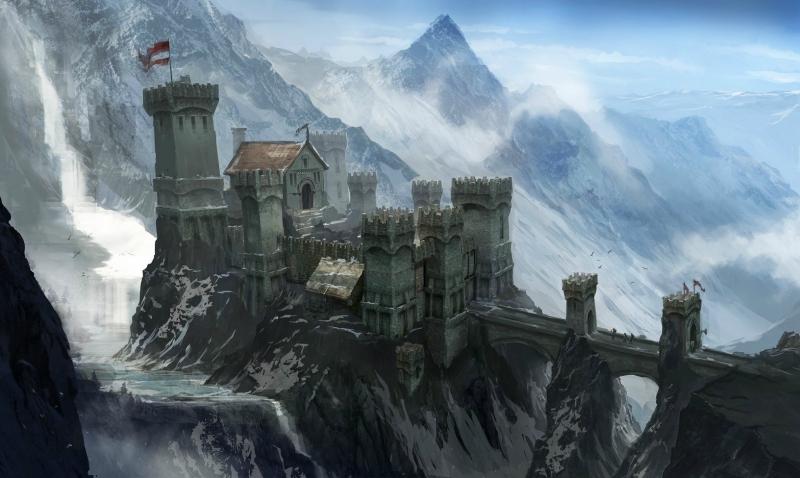 Но какой герой живет в квартире? Стандартным жильем в видеоиграх является замок. Концепт из Dragon Age 3: Inquisition