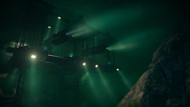 В мире AquaNox человечество освоило дно морское не хуже, чем территории над уровнем моря. Нравы, к сожалению, человечество также взяло с собой под воду
