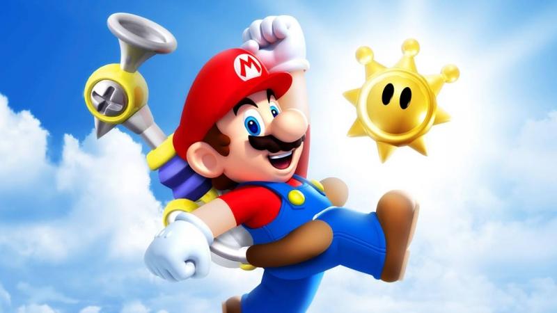 В Super Mario Sunshine Марио провел лучший отпуск своей жизни