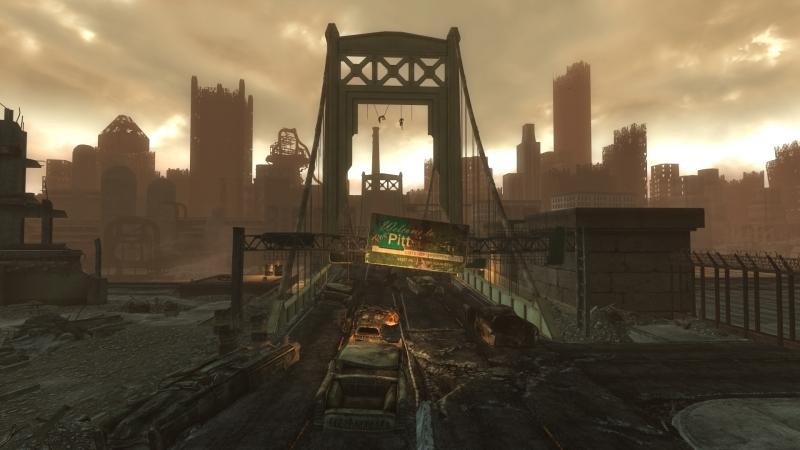 В мире Fallout огромное количество пустующего жилья. Рынок недвижимости рухнул, риэлторы подались в рейдеры, используя прежние навыки