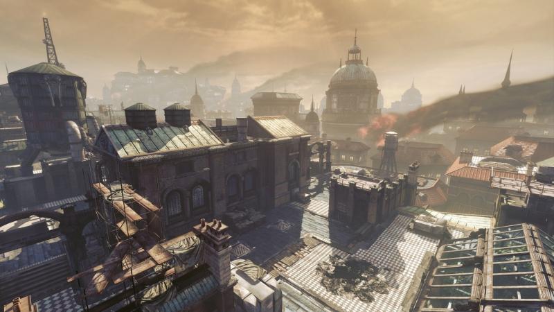 Старые города планеты Сера в Gears of War давно опустели
