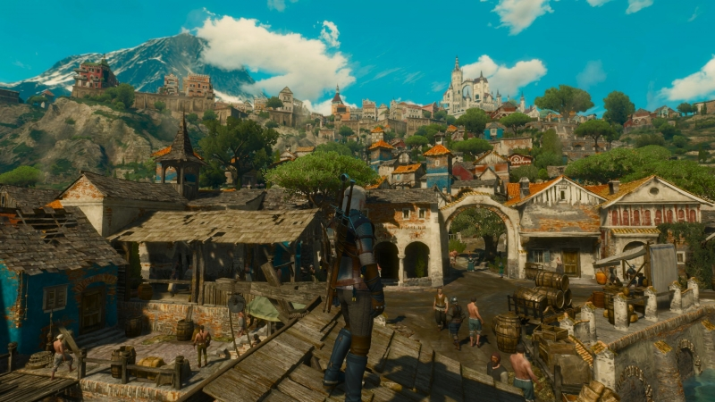 Даже бедные кварталы Туссента выглядят симпатично. Жилье там должно стоить сущие гроши