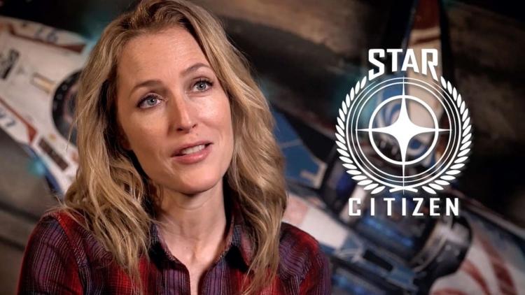 Джиллиан Андерсон (Gillian Anderson), звезда «Секретных материалов», также принимает участие в создании Squadron 42