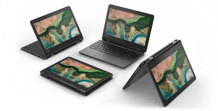 Анонсированы хромбуки для сферы образования: Lenovo 100e, 300e и 500e