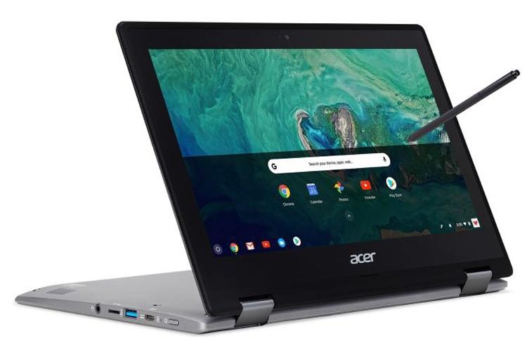 """Хромбук-трансформер Acer Spin 11 оснащён 11,6"""" сенсорным дисплеем"""