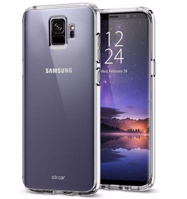 Неофициальный рендер Galaxy S9