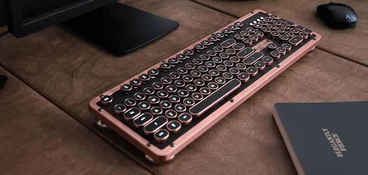 "Клавиатура в ретро-стиле AZIO Retro Classic стала доступна в Bluetooth-версии"""