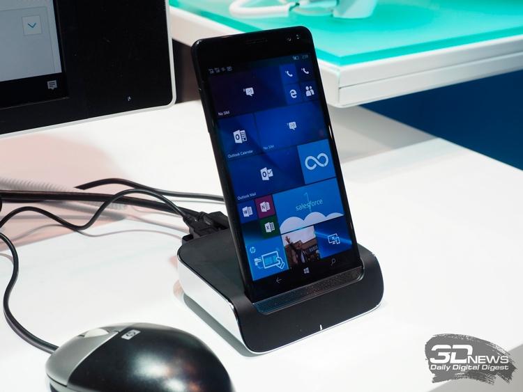 HP Elite x3 вошёл в историю как самый мощный смартфон на Windows 10 Mobile