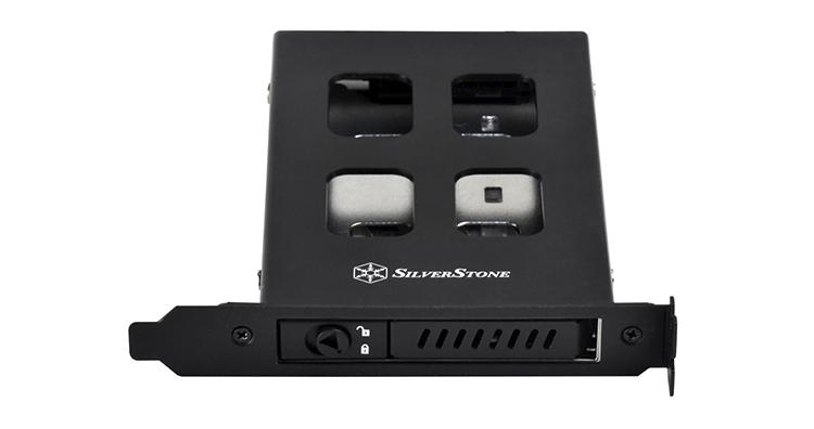"SilverStone EXB01: накопитель формата 2,5"" на месте карты расширения"""
