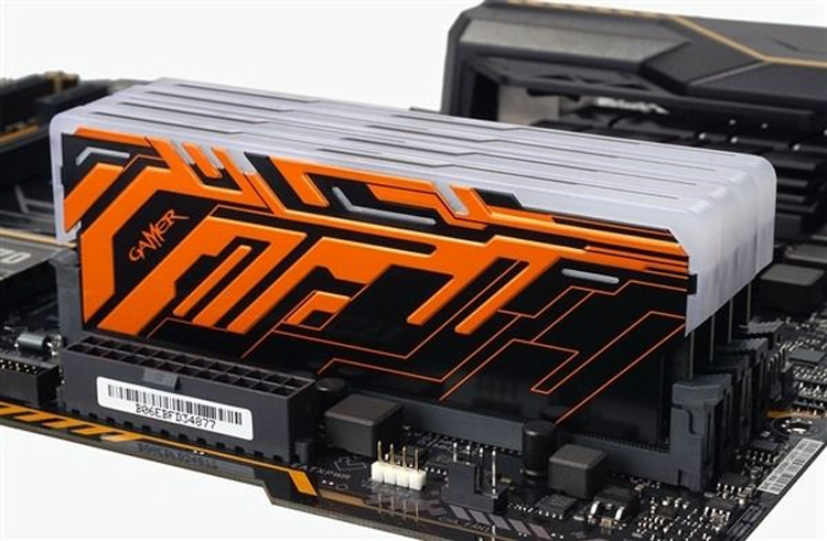 galax2 - GALAX выпустит DDR4-модули Gamer II с многоцветной подсветкой
