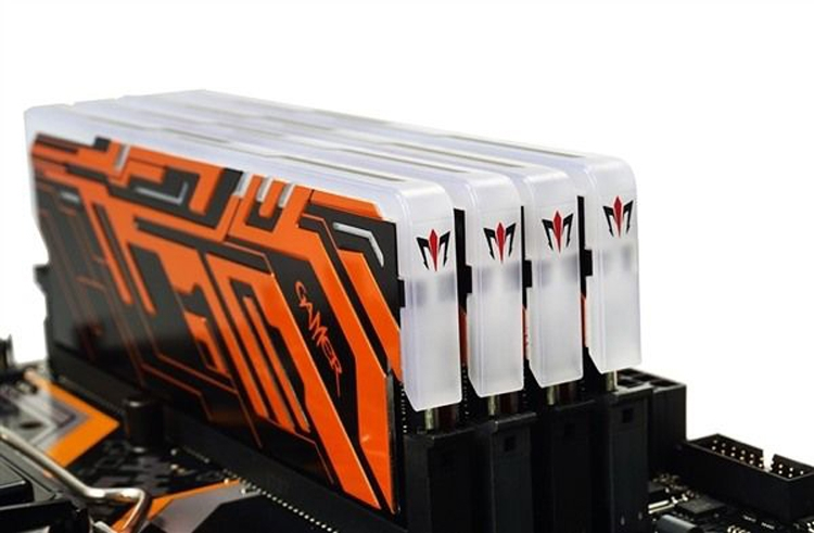 galax3 - GALAX выпустит DDR4-модули Gamer II с многоцветной подсветкой