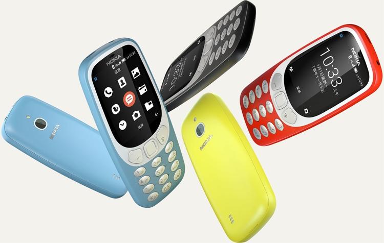 Представлена новая нокиа  3310 споддержкой 4G