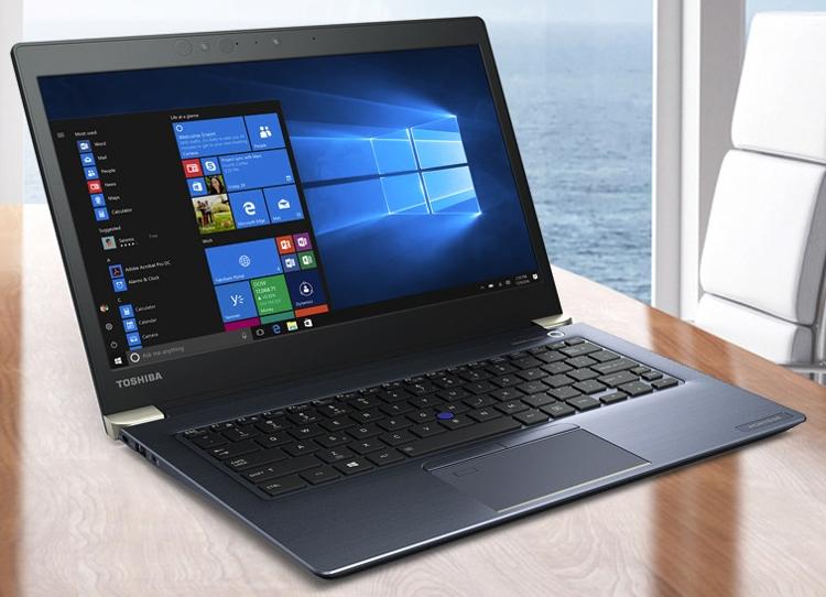Новые ноутбуки Toshiba Portege получили процессор Intel Core восьмого поколения