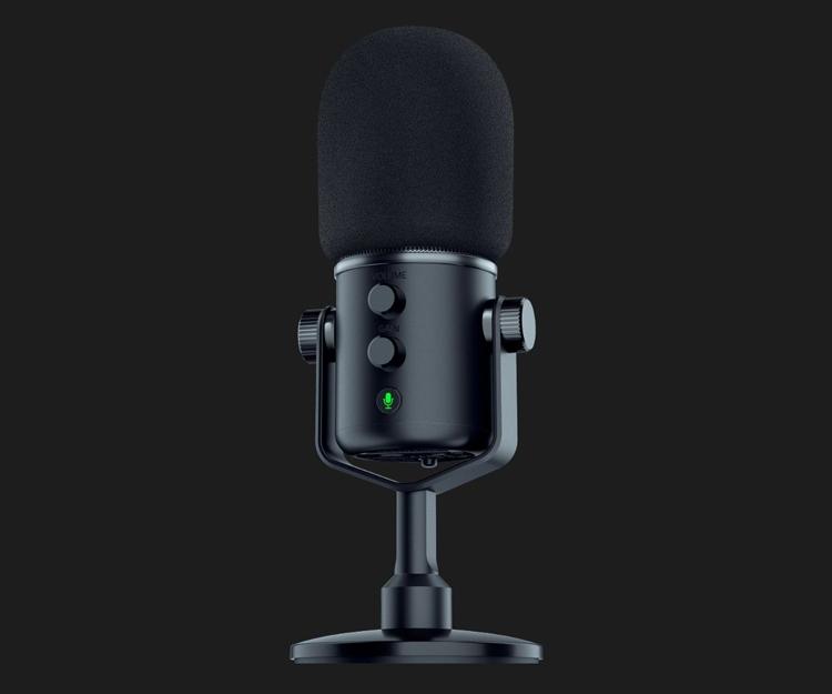 """Микрофон Razer Seiren Elite предназначен для профессионального ведения трансляций"""""""