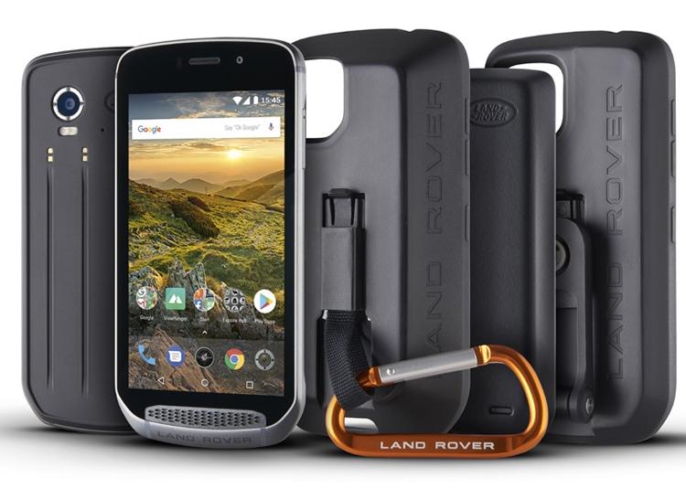 Лэнд-Ровер выпустит брутальный «внедорожный» смартфон