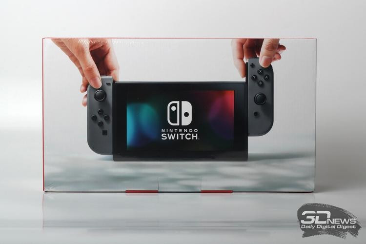 Nintendo продала почти 15 млн консолей Switch