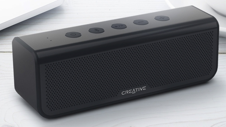 """Creative Metallix Plus: беспроводной динамик с защитой от влаги"""""""