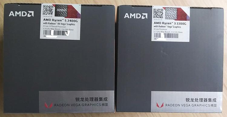Ryzen 5 2400G и Ryzen 3 2200G