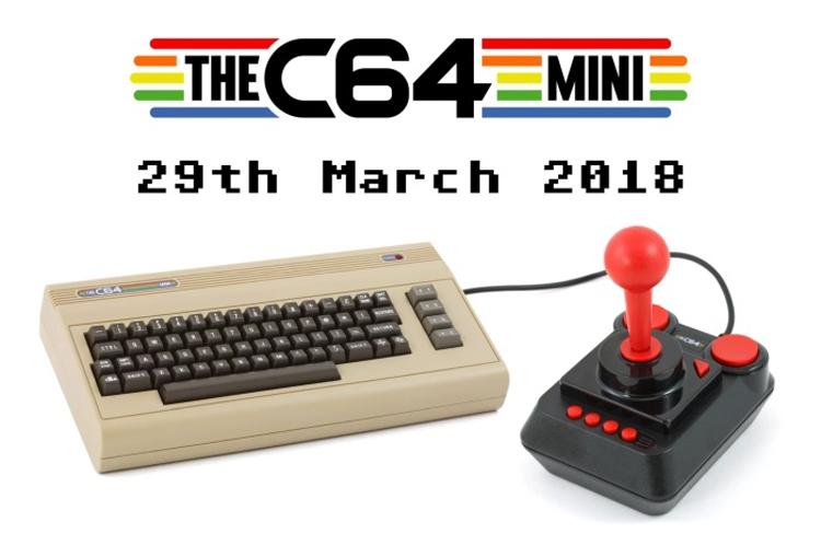 """Мини-версия легендарного ПК Commodore 64 поступит в  продажу в конце марта"""""""