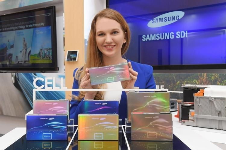 Новейшие автомобильные литиево-ионные аккумуляторы Samsung