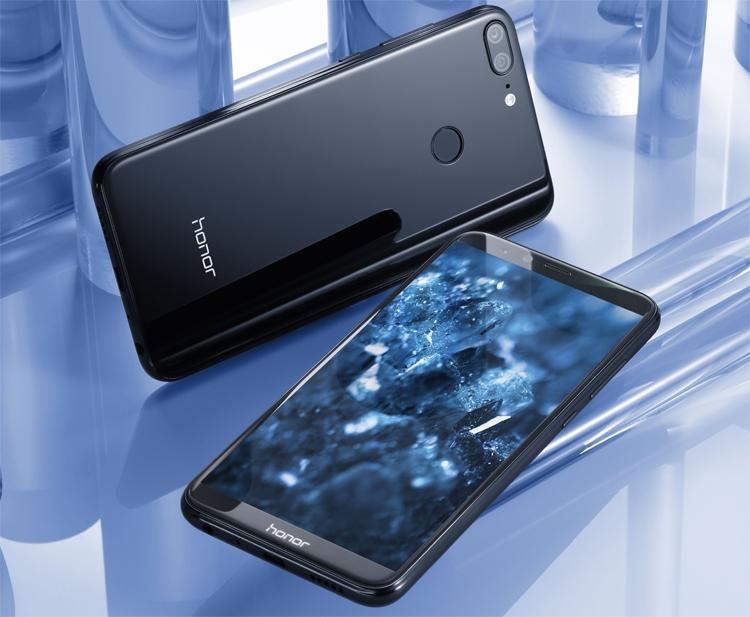 Стала известна цена нового китайского телефона Huawei Honor 9 Lite
