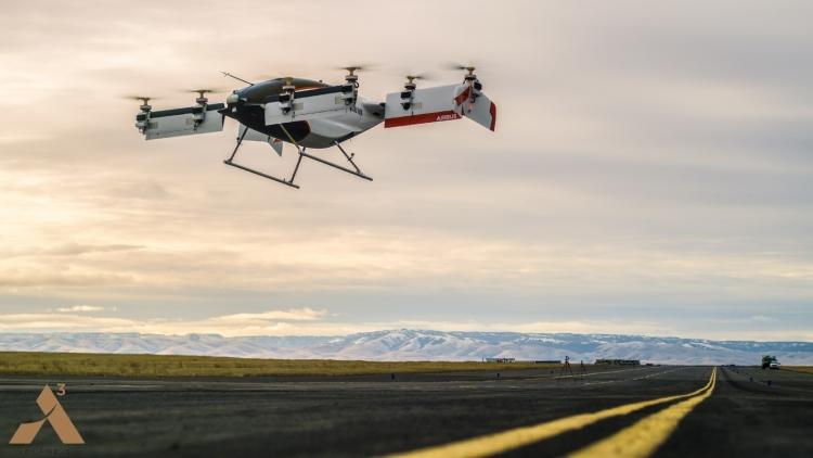 """Беспилотное летающее такси Airbus впервые поднялось в воздух"""""""
