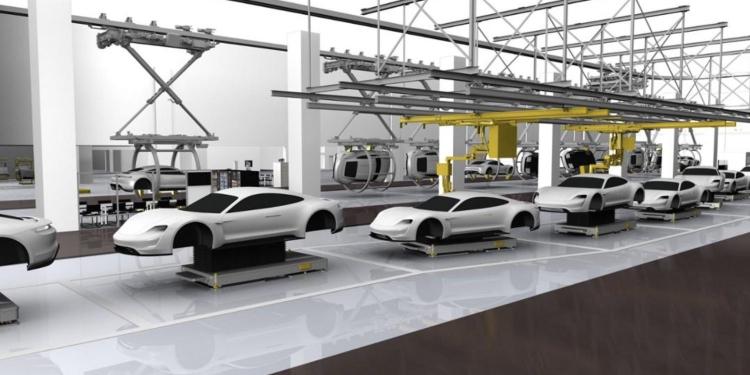 """Porsche запустит массовое производство электрокара Mission E в 2019 году"""""""