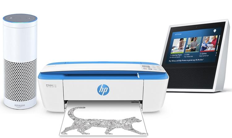 """Принтеры HP начнут общаться с голосовыми помощниками"""""""