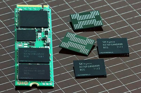 72-слойная 3D NAND флеш-память SK Hynix для массового потребителя