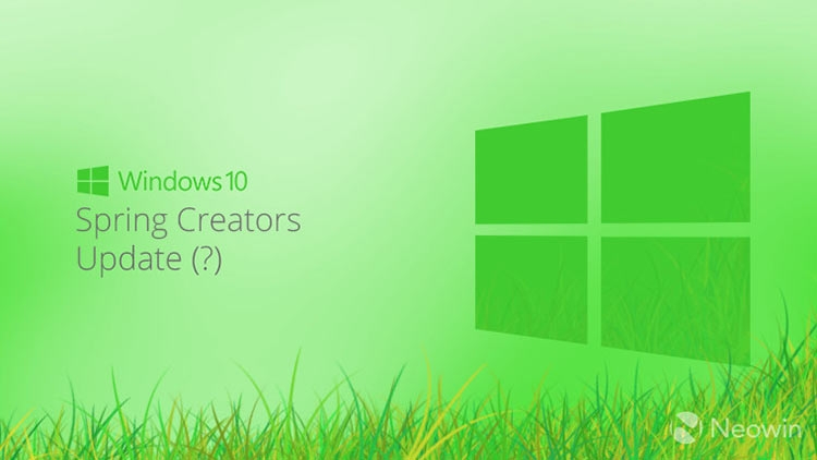 Redstone 4 получит имя Windows 10 Spring Creators Update""
