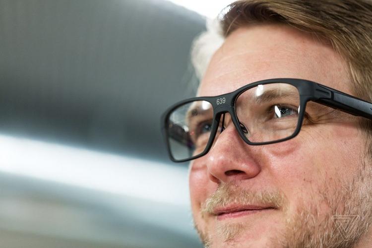 Intel представила «умные» очки Vaunt — они похожи на обычные