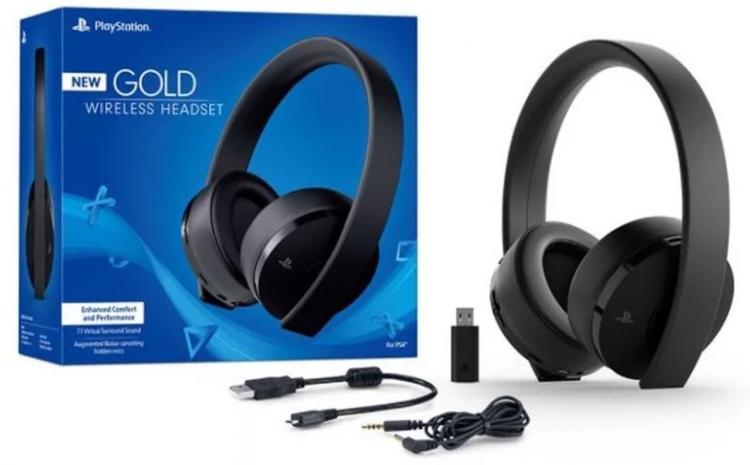 "Sony подготовила обновлённую версию гарнитуры PlayStation Gold Wireless Stereo Headset"""
